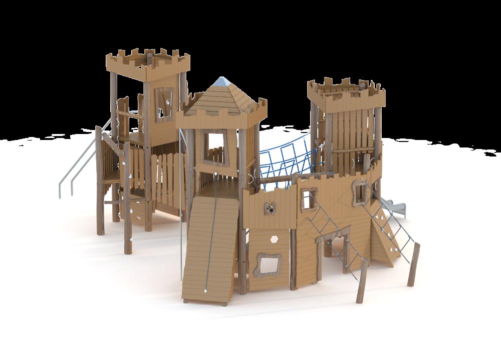 Замок (5 м) большой
