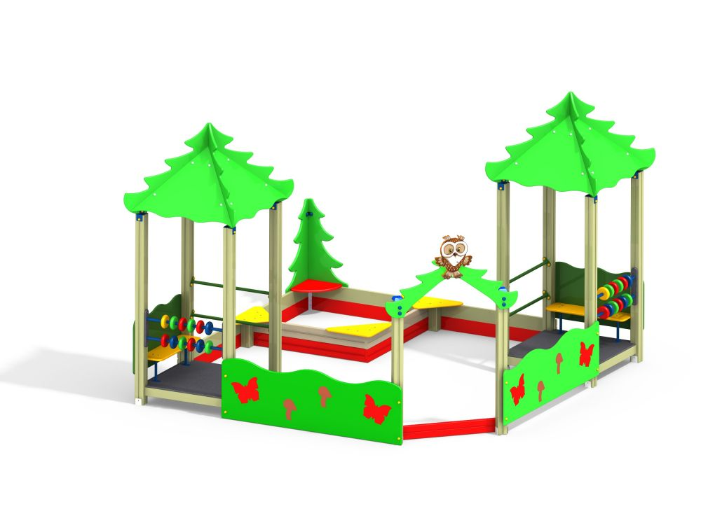 Песочный дворик без горки (-Цветовая схема 1