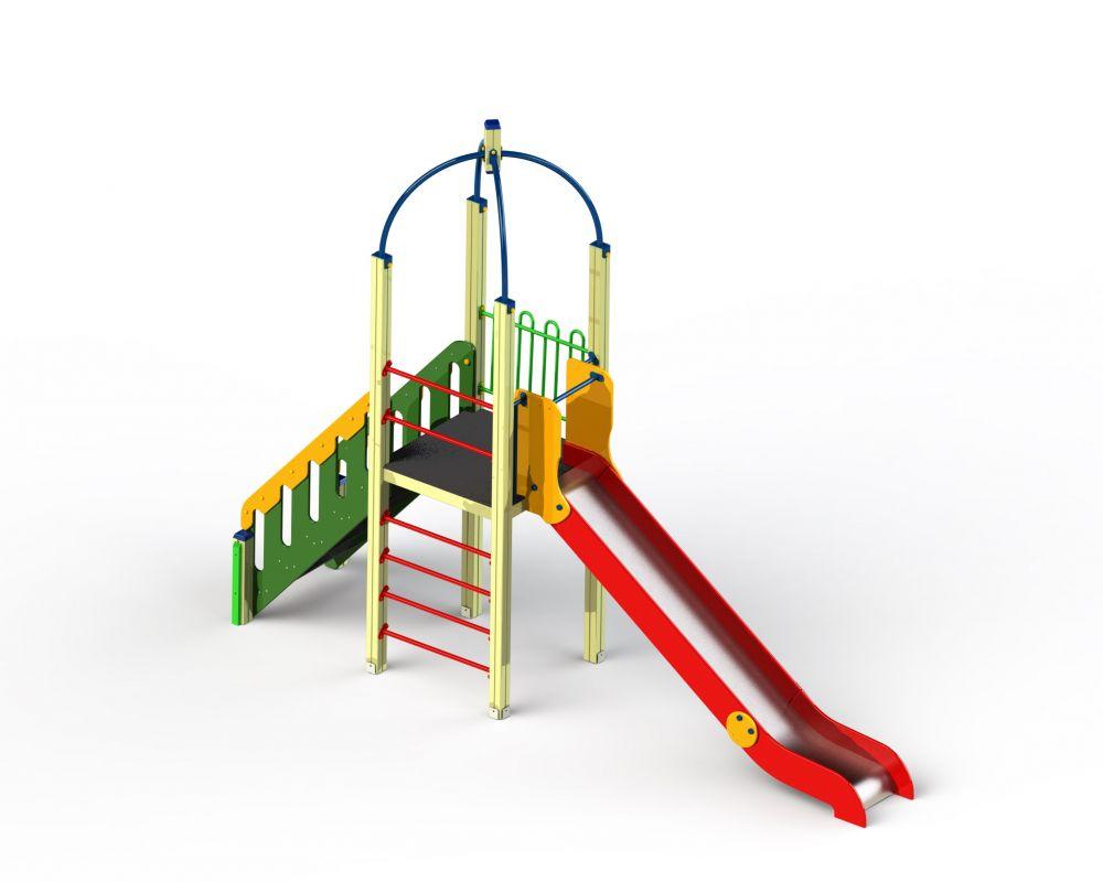 Детский игровой комплекс Н=1500 (Цветовая схема -с26/8,32)