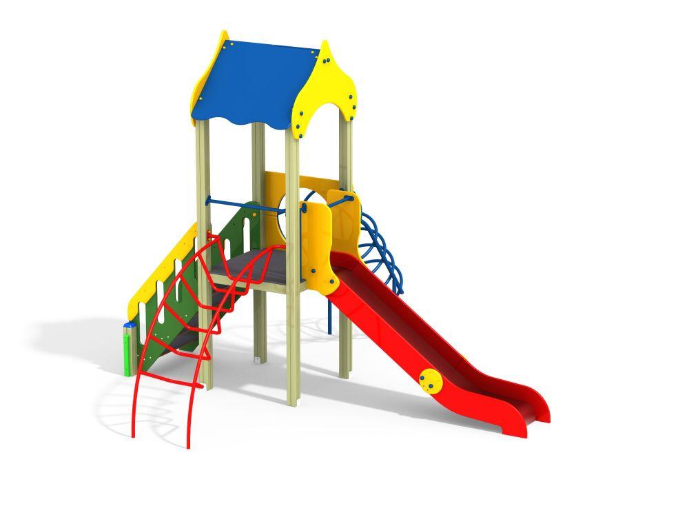 Детский игровой комплекс Н=1200 (Цветовая схема -16)